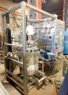 Used- Apache Stainless Stainless Steel Pressure Tank with Agitation, 100 gallon,