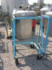 Used- 50 Gallon Stainless Steel Brighton Pressure Tank