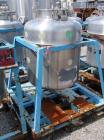 Used- Javo N.V. Alkmaar Pressure Tank, 100 Gallon, Stainless Steel, Vertical. 30'' diameter x 30'' straight side, dished top...