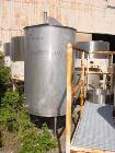 USED: Sani Tank, 300 gallon, stainless steel, vertical. 38