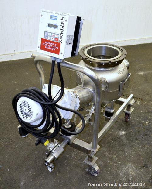 Used- 7-1/2 Gallon Stainless Steel Tri-State Precision Pressure Tank