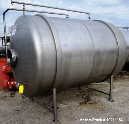Used- 1800 Gallon Stainless Steel Tank
