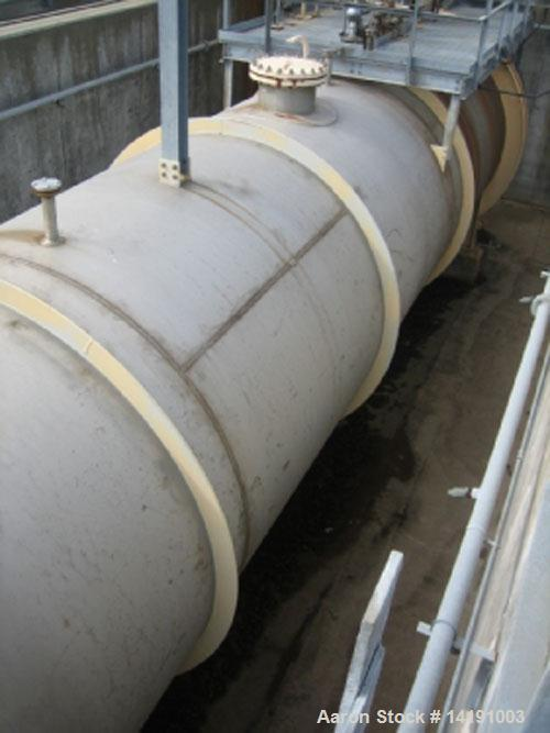 Unused-Used: 3,000 Gallon Struthers Ind. 304L Stainless Steel Horizontal Storage Tank. Max. Pressure F.V. & 100 psi @ 250°F....