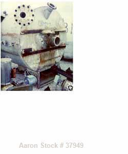 "USED: McIver Smith 1000 gal vertical tank. Flat top, dished bottom. The tank includes the following nozzles: top (1) 10"" fla..."