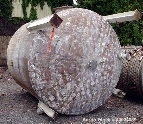 Used- 4500 Gallon Stainless Steel Tank, Model 108-VSEDS-5