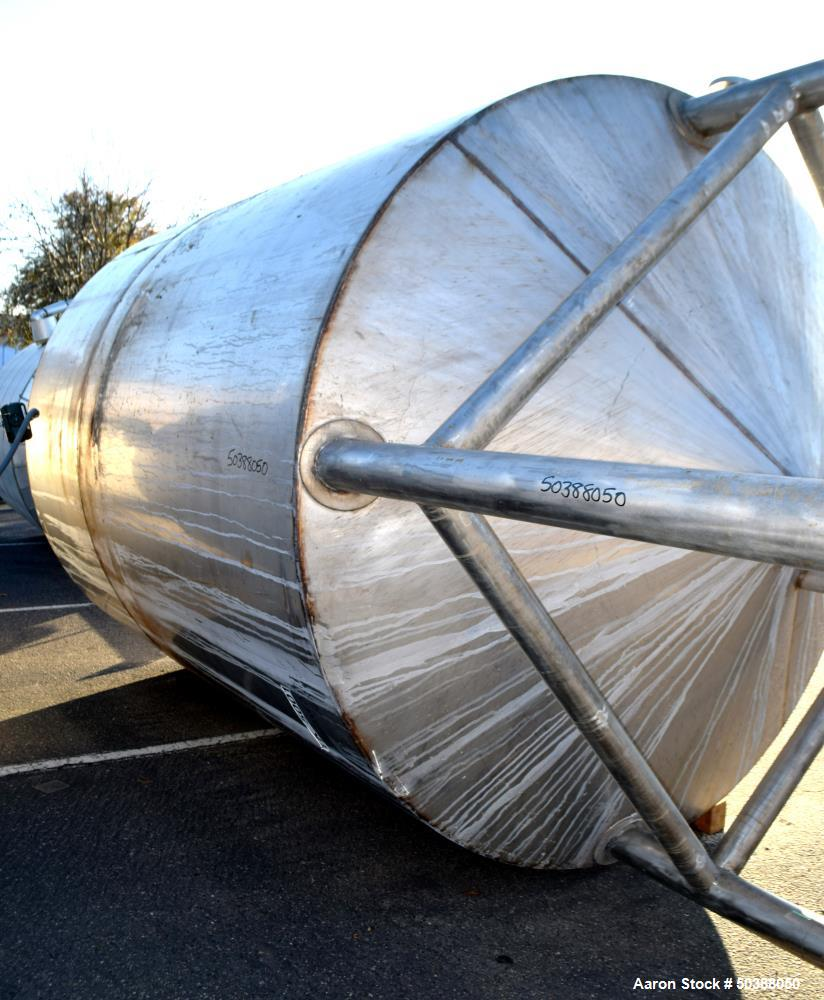 Used- Andy J. Egan Approximate 3000 Gallon Tank