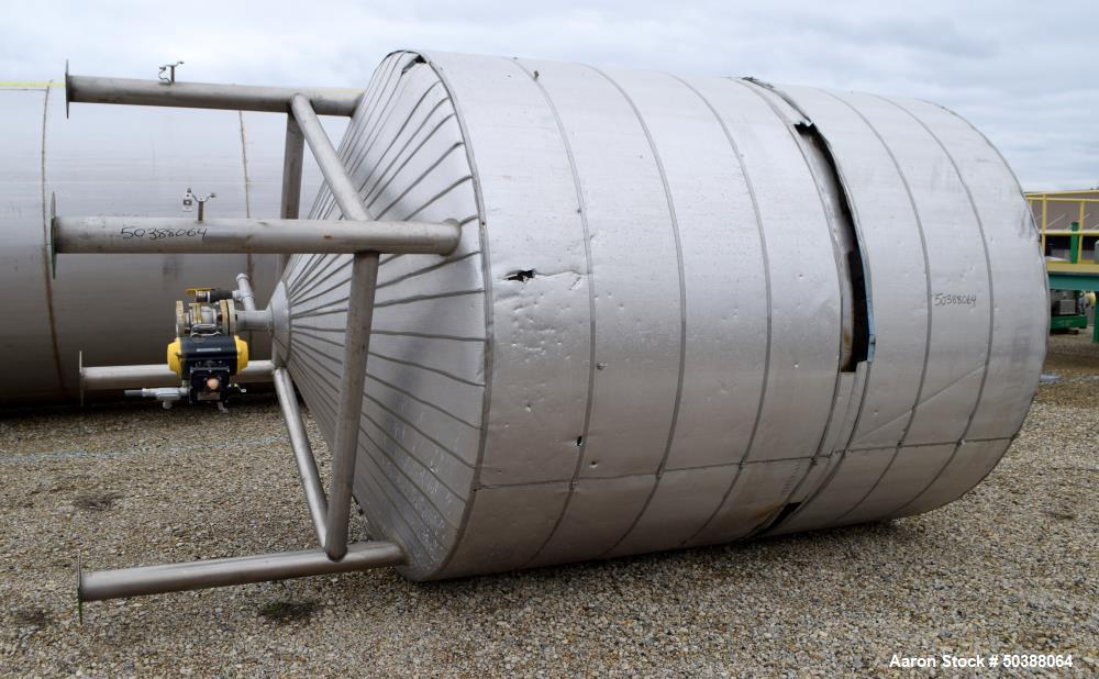 Used- Andy J. Egan Tank, Approximate 3500 Gallon