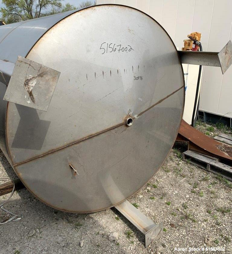Precision 2,500 Gallon Stainless Steel Tank