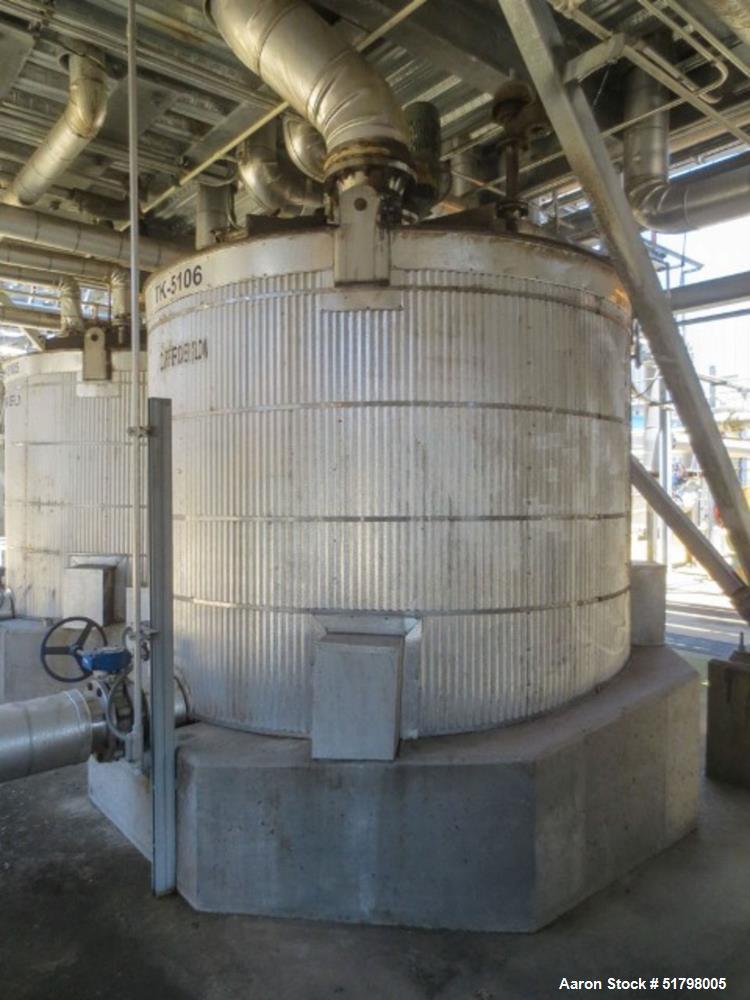 Used- Gilbert Industries Storage Tank, 2,300 Gallon