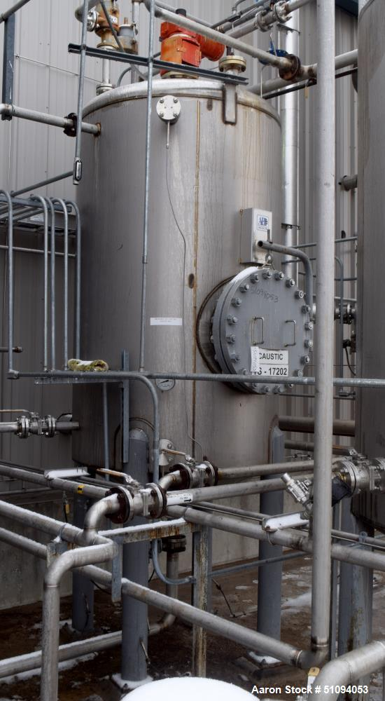 Used- A&B Process Tank, Approximate 1,200 Gallon
