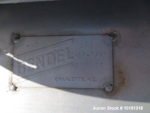 Used- Bendel Tank, 3200 Gallon