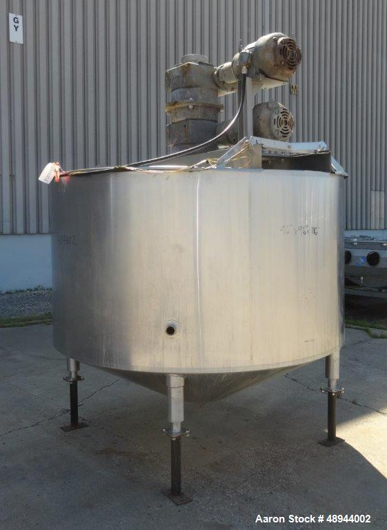 Used- Chester Jensen Dual Motion Processors, Model 70N100, 316 Stainless Stee
