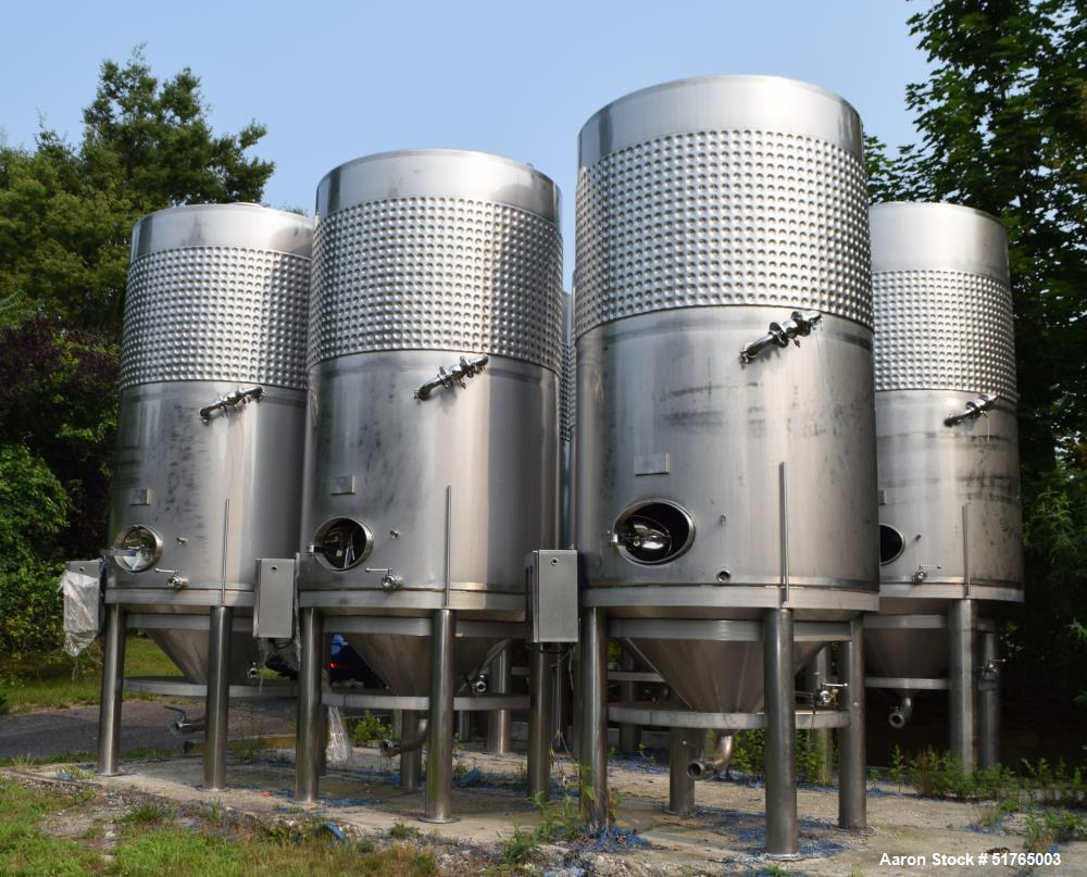 Criveller Ganimede 5.5 Ton Wine Fermentation Tank