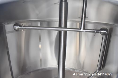 Used- DCI 2,600 Gallon Stainless Steel Tank