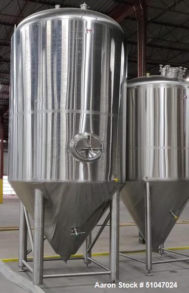 UNUSED- 80BBL Fermentor DME (Diversified Metal Engineering)