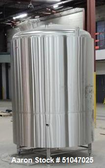 UNUSED- 40BBL Custom 1260 Gallon Bright Beer Tank (BBT)