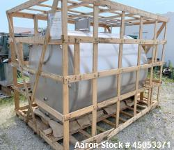 """Unused- Schlueter Insulated 1,200 Gallon Tank, Stainless Steel, Vertical. Approximate 64"""" diameter x 87"""" straight side. Flat..."""