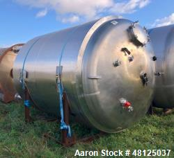Used- BCD Engineering Storage Tank, 3962 Gallon