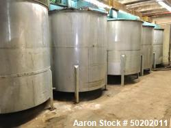 Used- 2,000 Gallon Stainless Steel Mixing Tank