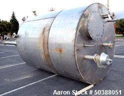 Used- Andy J. Egan Tank, Approximate 3000 Gallon