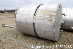 Used- Andy J. Egan Tank, Approximate 1500 Gallon