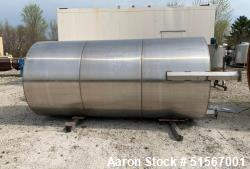 Used- 2,500 Gallon Stainless Steel Tank