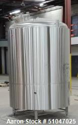 Used- 40BBL Custom 1260 Gallon Bright Beer Tank (BBT)