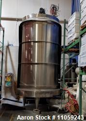 Used-Pierre Guerin Tech Approx. 3000 Gallon (11000 Liter) Stainless Steel Asepti