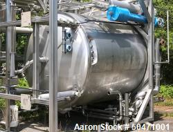 Used-Stainless Steel Fabrication Inc. 3,500 Gallon Tank. Design Pres. 0.361 psig @ 200 deg F.  Design Vacuum: 0.736 In HG.  ...