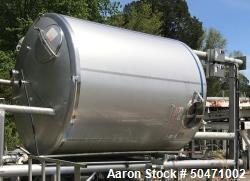 Used-Stainless Steel Fabrication Inc. 3,500 Gallon Tank. Design Pres. 0.361 psig @ 200 deg F.  Design Vacuum: 0.736 In HG. S...