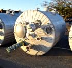 Used- Andy J. Egan Jacketed Tank, Approximate 1500 Gallon