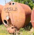 USED:Pfaudler tank, 2000 gallon, stainless steel, horizontal. Approx88