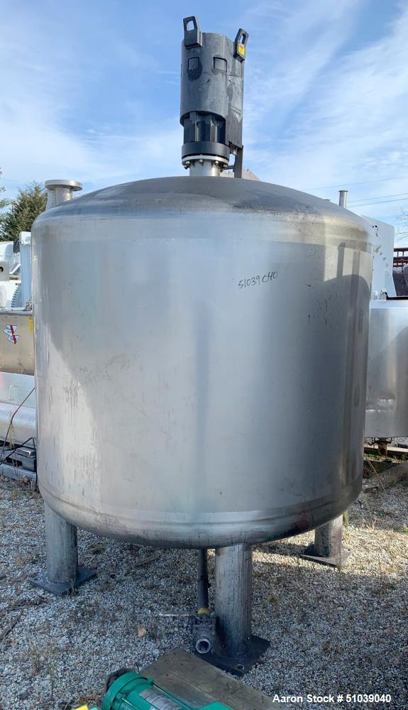 Used- Mix Tank, Approximately 1000 gallon