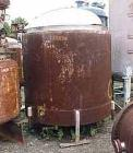 USED:Metal Glass Products (Sani-Tank) mix tank, 835 gallon. 304stainless steel, vertical. 64