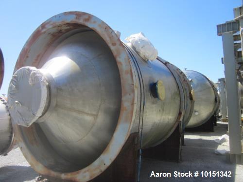 Unused - Praj Industries 9535 Gallon Vertical 316 Stainless Steel Pressure Vesse