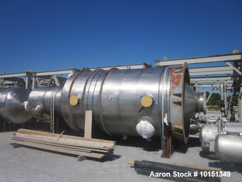 Unused- Praj Industries Vertical 316 Stainless Steel Pressure Vessel