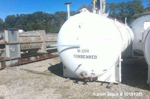 Used- Approximate 6,000 Gallon, 316 Stainless Steel Mix Tank