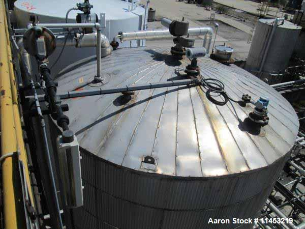 Used 11000 gallon Stainless Steel Storage tank,