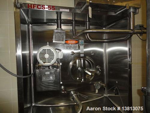 Used-20,000 Gallon Jacketed Silo, mild steel exterior and stainless steel interior. Jacket coils are located in the bottom 1...