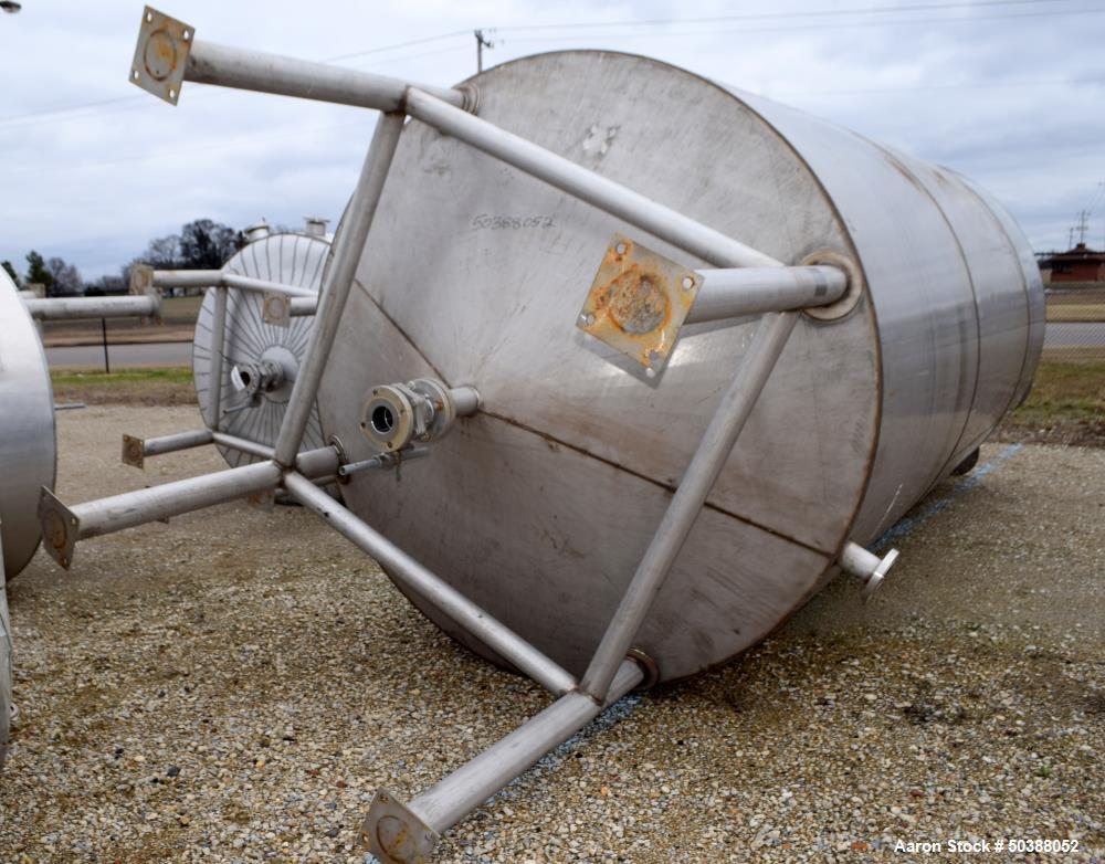 Used- Andy J. Egan Tank, Approximate 5000 Gallon, Vertical