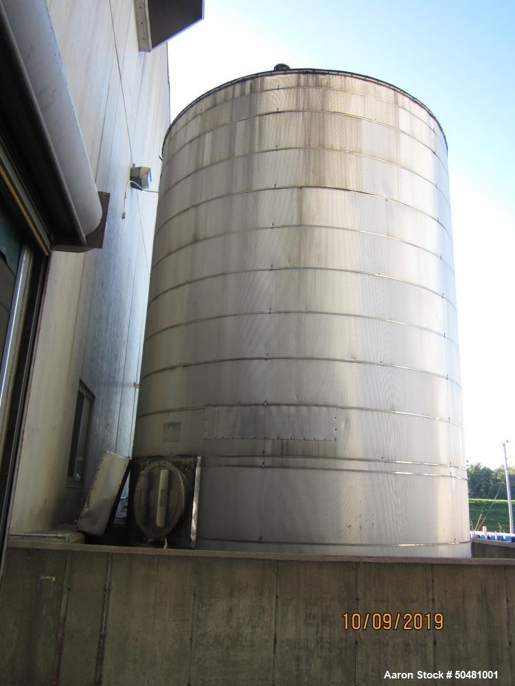 Used- Meridian Manufacturing Group Tank, Approximately 14,000 Gallon.