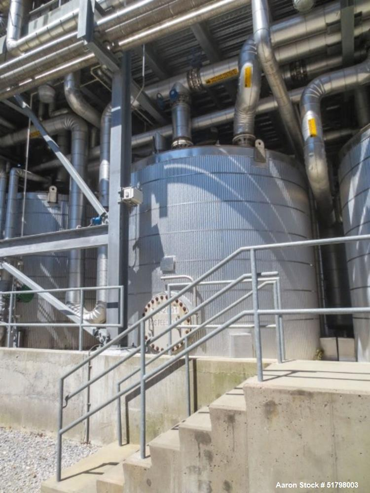Used- Gilbert Industries Storage Tank, 10,500 Gallon