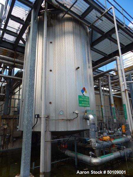 Used- Apache Stainless Equipment Storage Tank, 12,000 Gallon