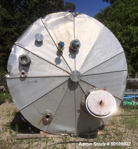 Used- Apache Stainless Equipment Storage Tank, 10,500 Gallon
