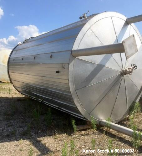 Used- Apache Stainless Equipment Storage Tank, 10,500 Gallon