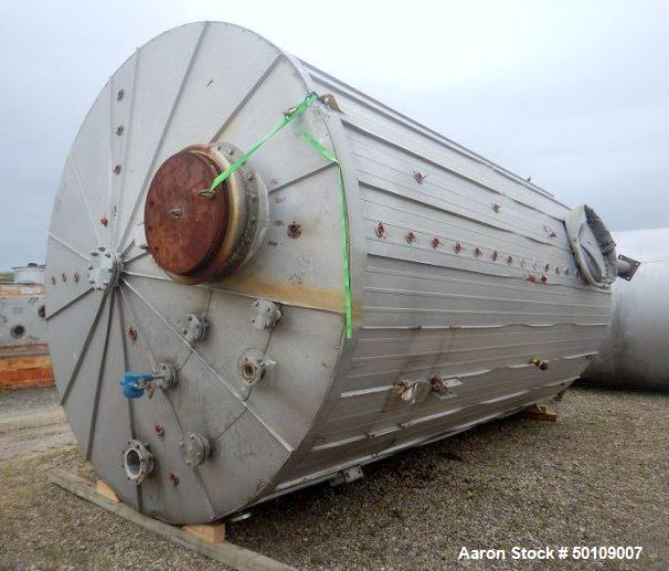 Buy and Sell Used 5000 Gallon and Up Stainless Steel Tanks