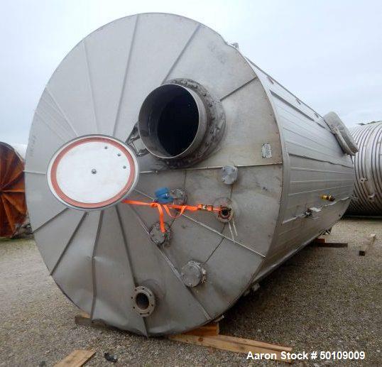 Used- Walker Storage Tank, 10,000 Gallon, 304 Stainless Steel