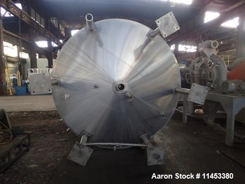 """Used- 5000 Gallon Cherry Burrell Processor. 304 stainless steel construction. Approximately 102"""" diameter x 130"""" straight si..."""