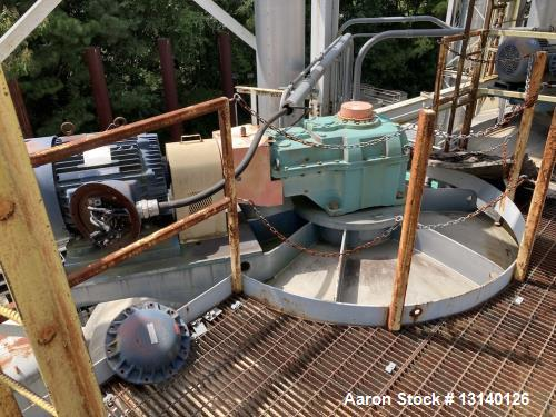 Used-Clemmer Steel Craft Approximately 20,000 Gallon Vertical Stainless Steel Pr