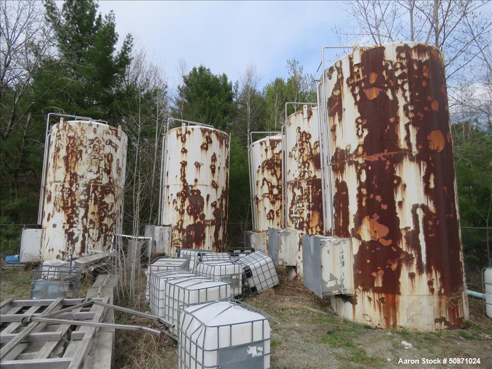 UNUSED- APV Crepaco 10,000 Gallon Storage Tank